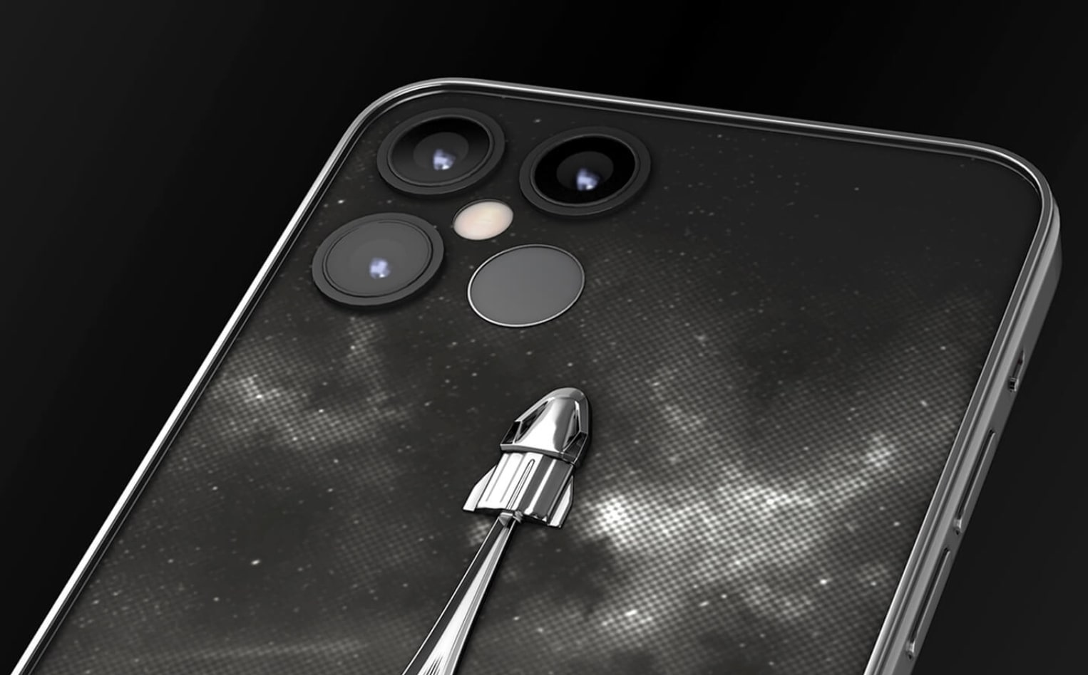 Would you buy this SpaceX-themed iPhone 12 Pro?