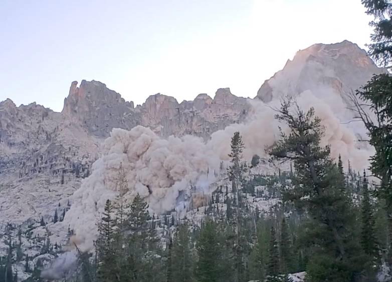 mountain collapse