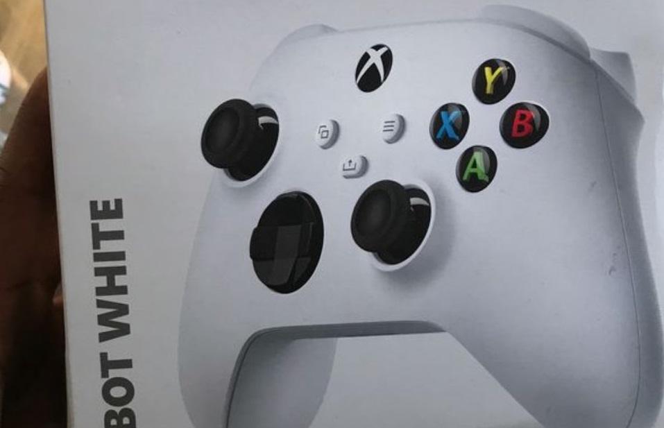Leaked Xbox controller spoils Microsoft's Xbox Series S announcement
