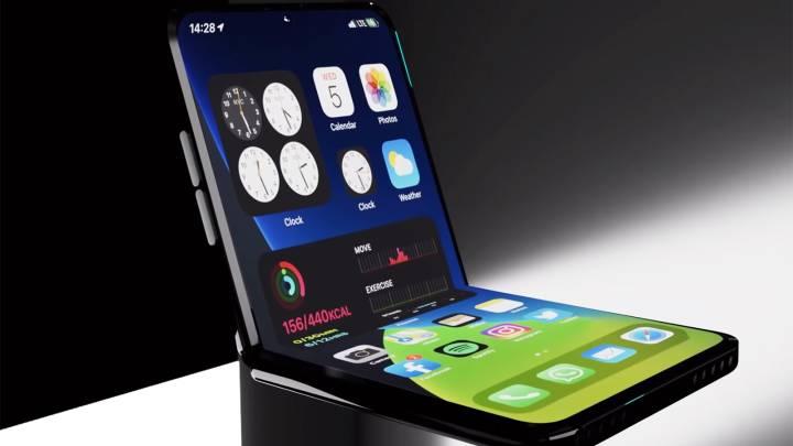 iPhone 12 Flip Phone 2020