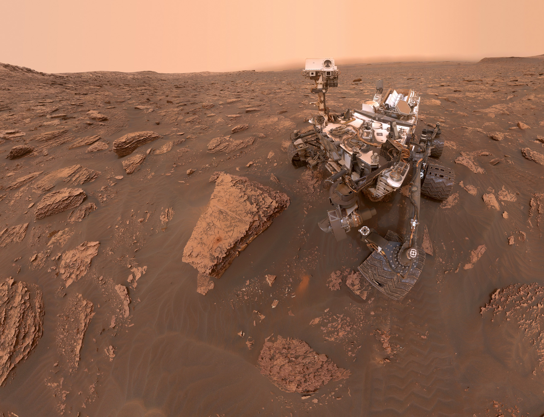 NASA's Curiosity rover is celebrating 8 years on Mars