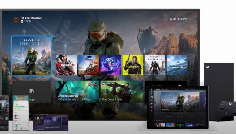 Xbox Series X User Interface