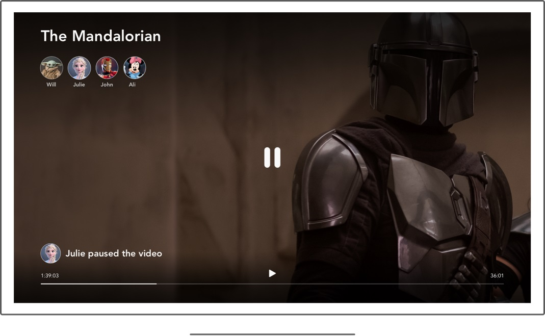 Disney+ gets a watch party feature just in time for 'The Mandalorian' season 2