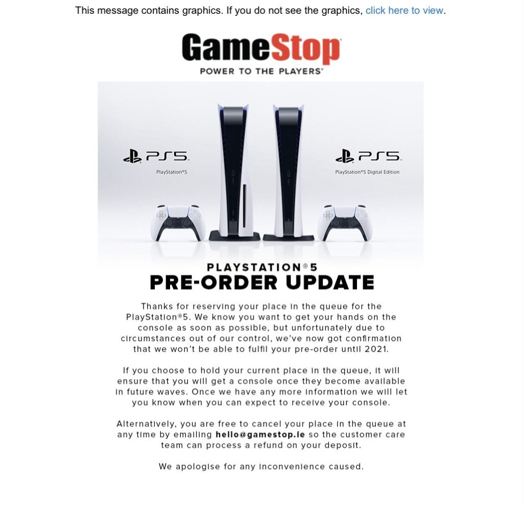 GameStop-PS5-Delays