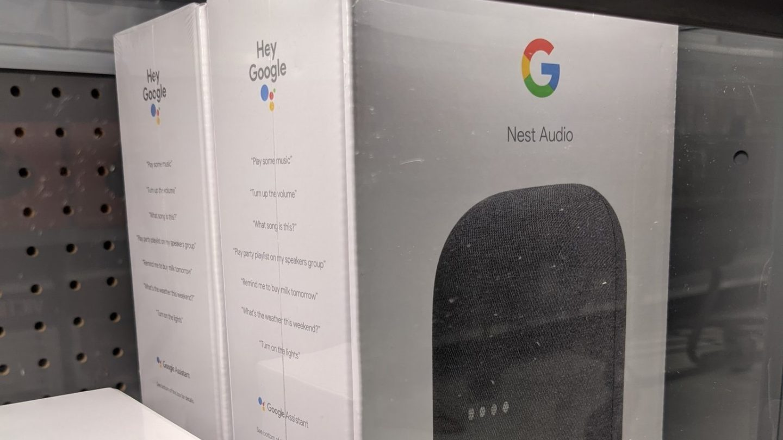 Nest Audio leak