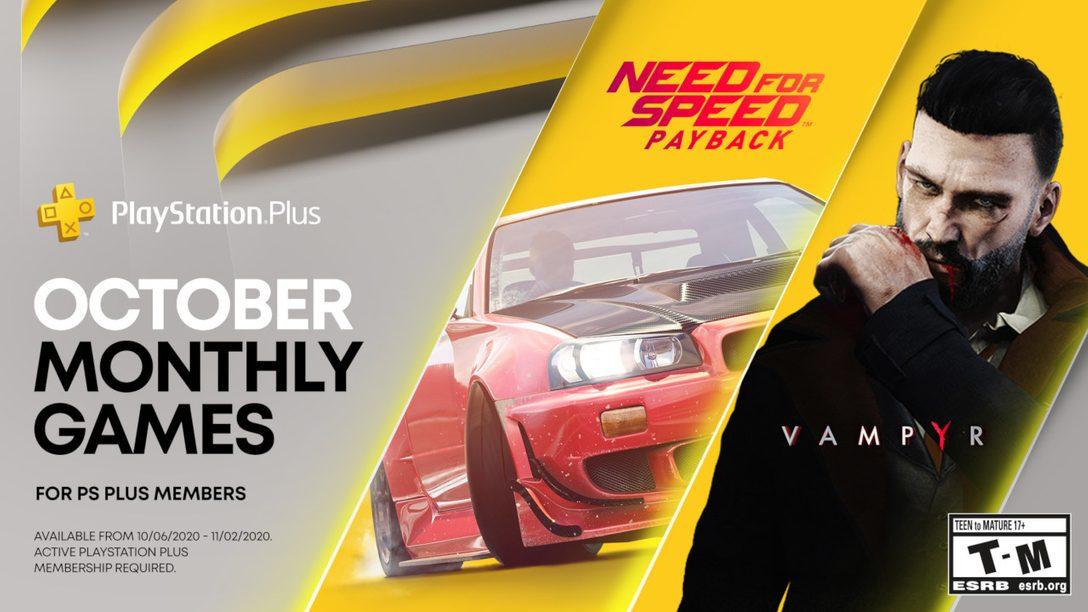 Playstation Plus Oktober