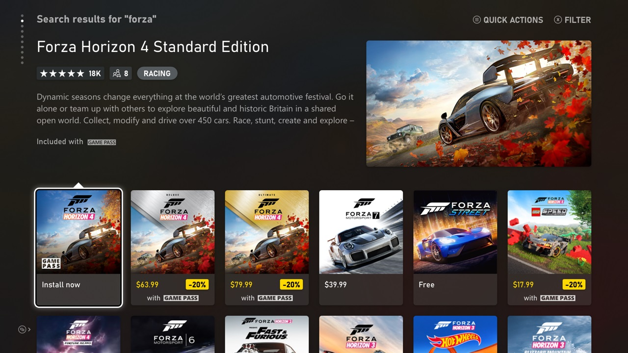 Xbox app will let you download and install games you don't own