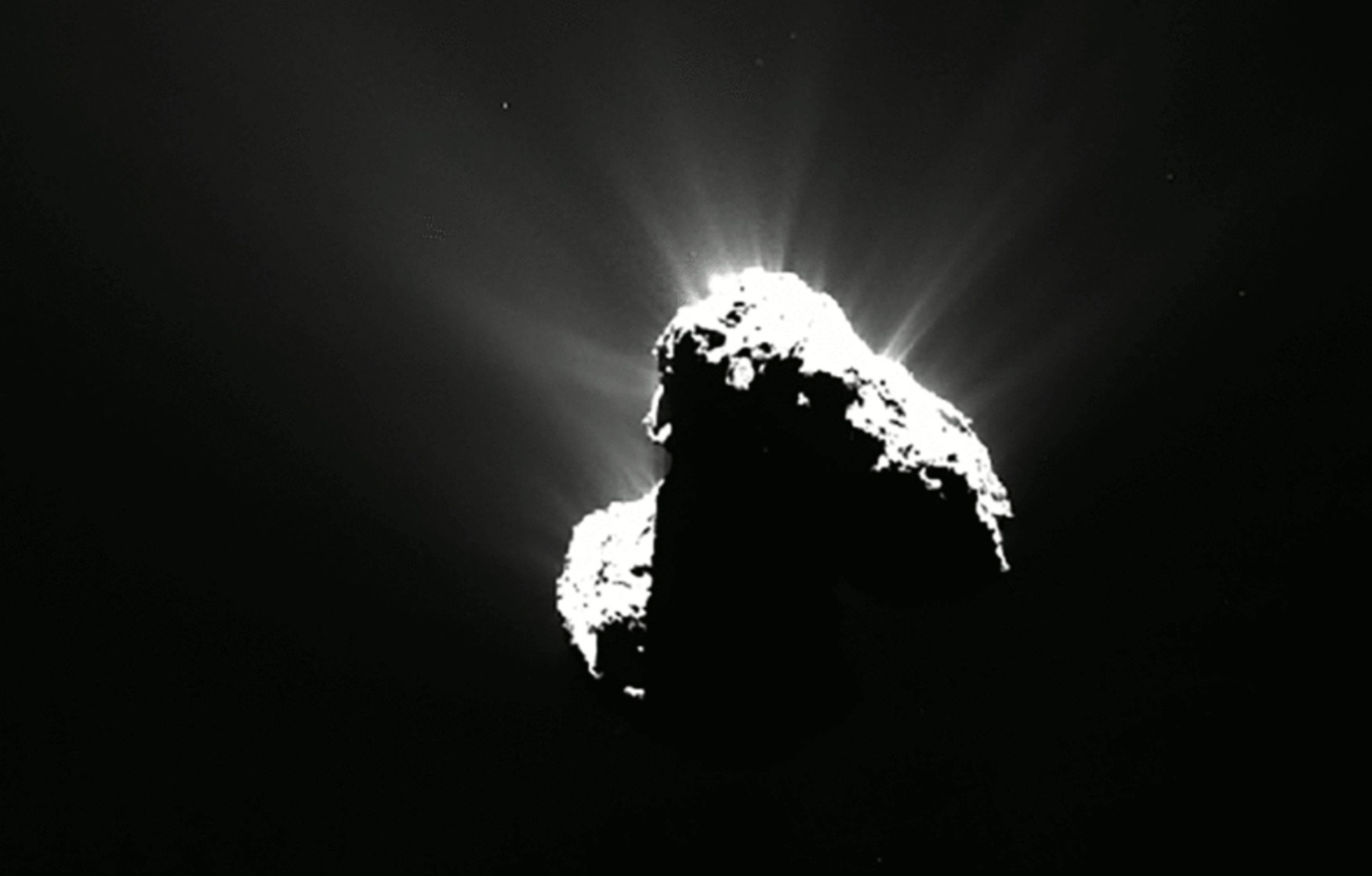 In an incredible first, scientists detect an aurora around a comet - BGR
