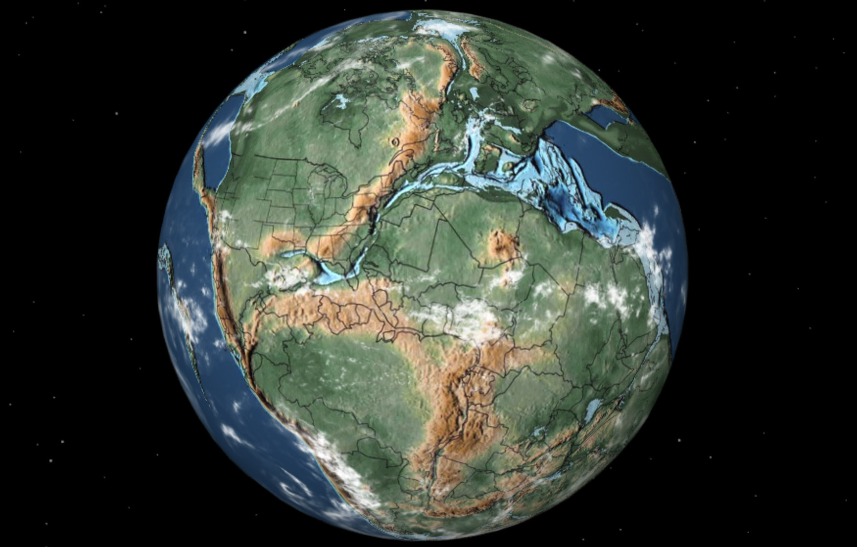 Interactive map shows you where your home was millions of years ago thumbnail