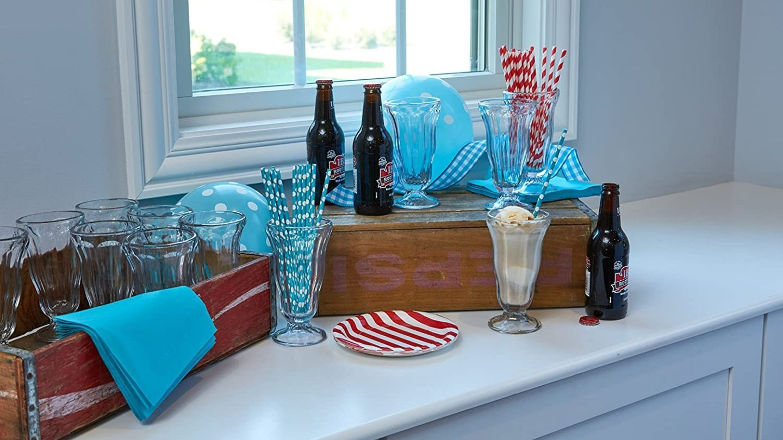 Top Sets of Milkshake Glasses