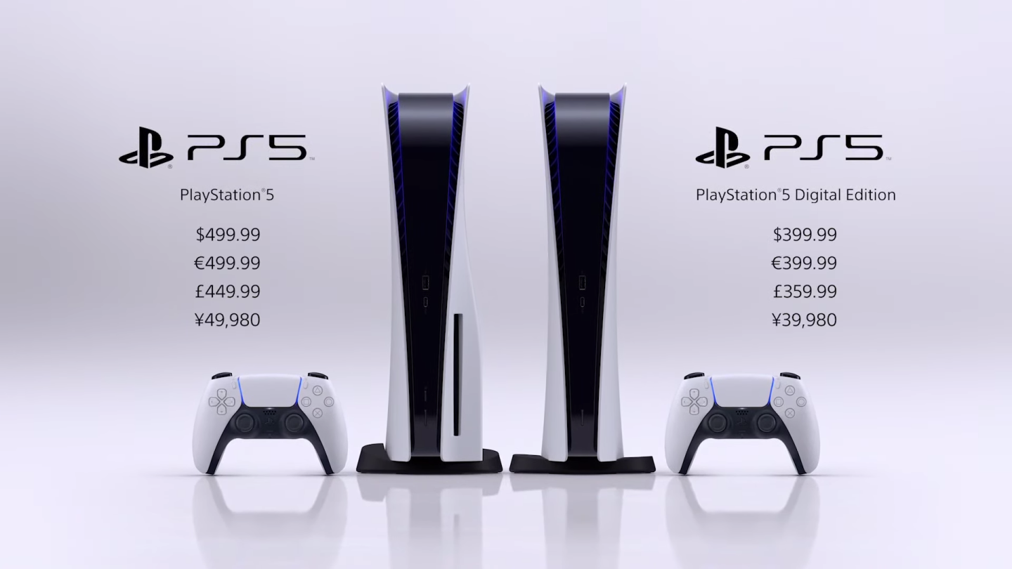 PS5 price, release date, preorders