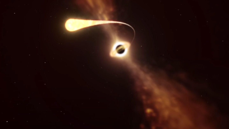 black hole star