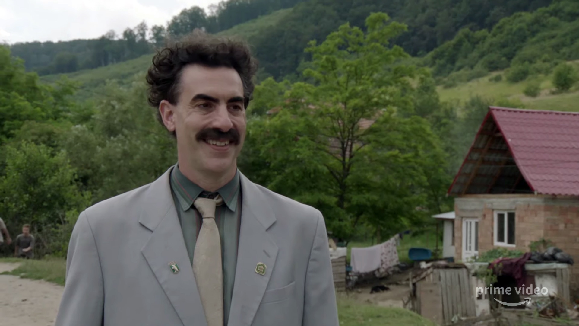 This deleted 'Borat 2' scene has everyone asking questions