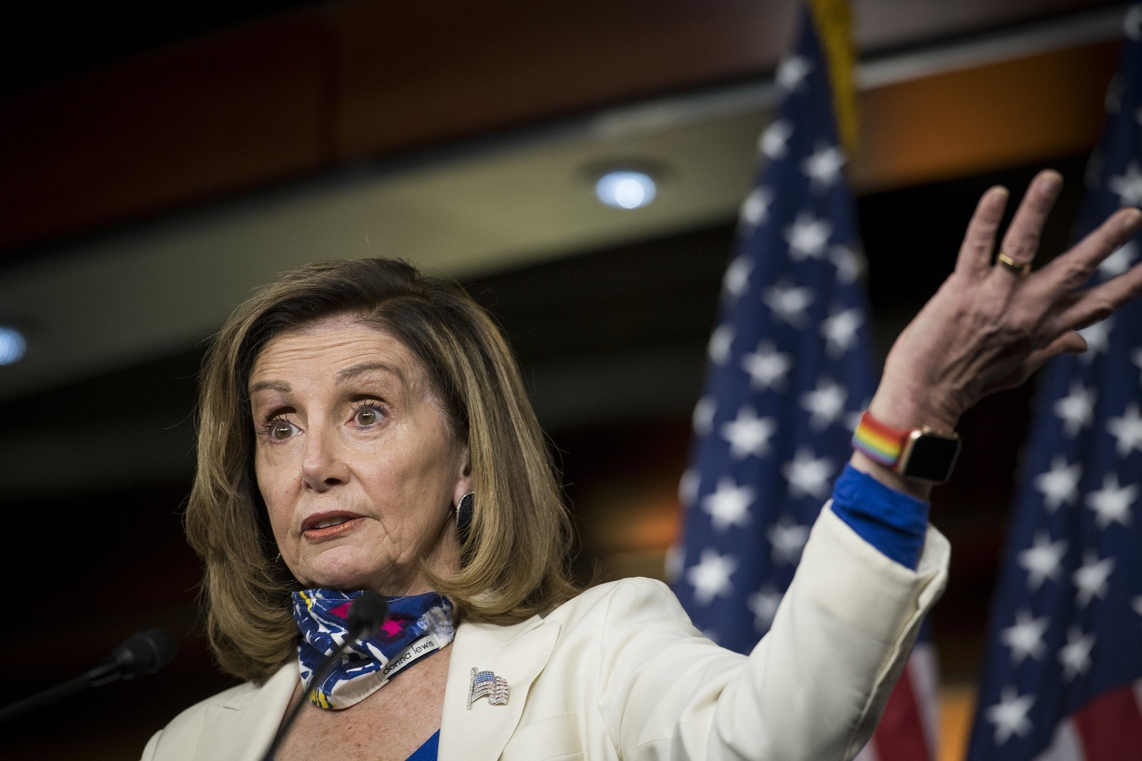 Nancy Pelosi just did something infuriating in the midst of stimulus negotiations