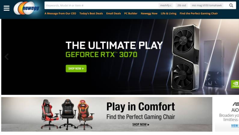 Newegg Black Friday 2020
