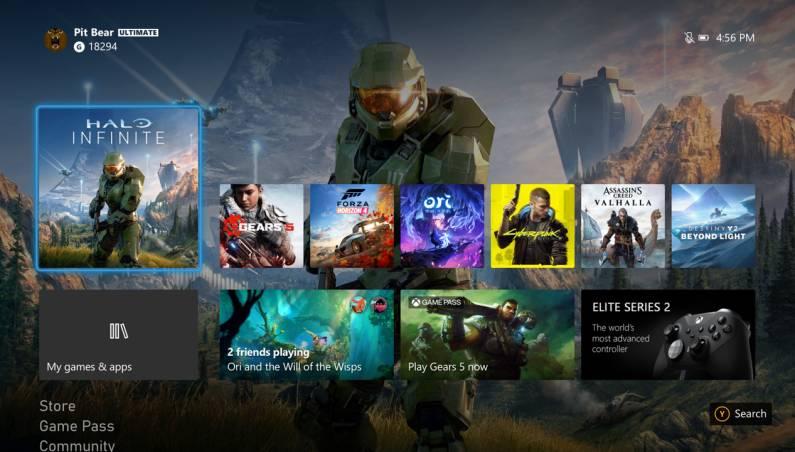 Xbox One October 2020 Update