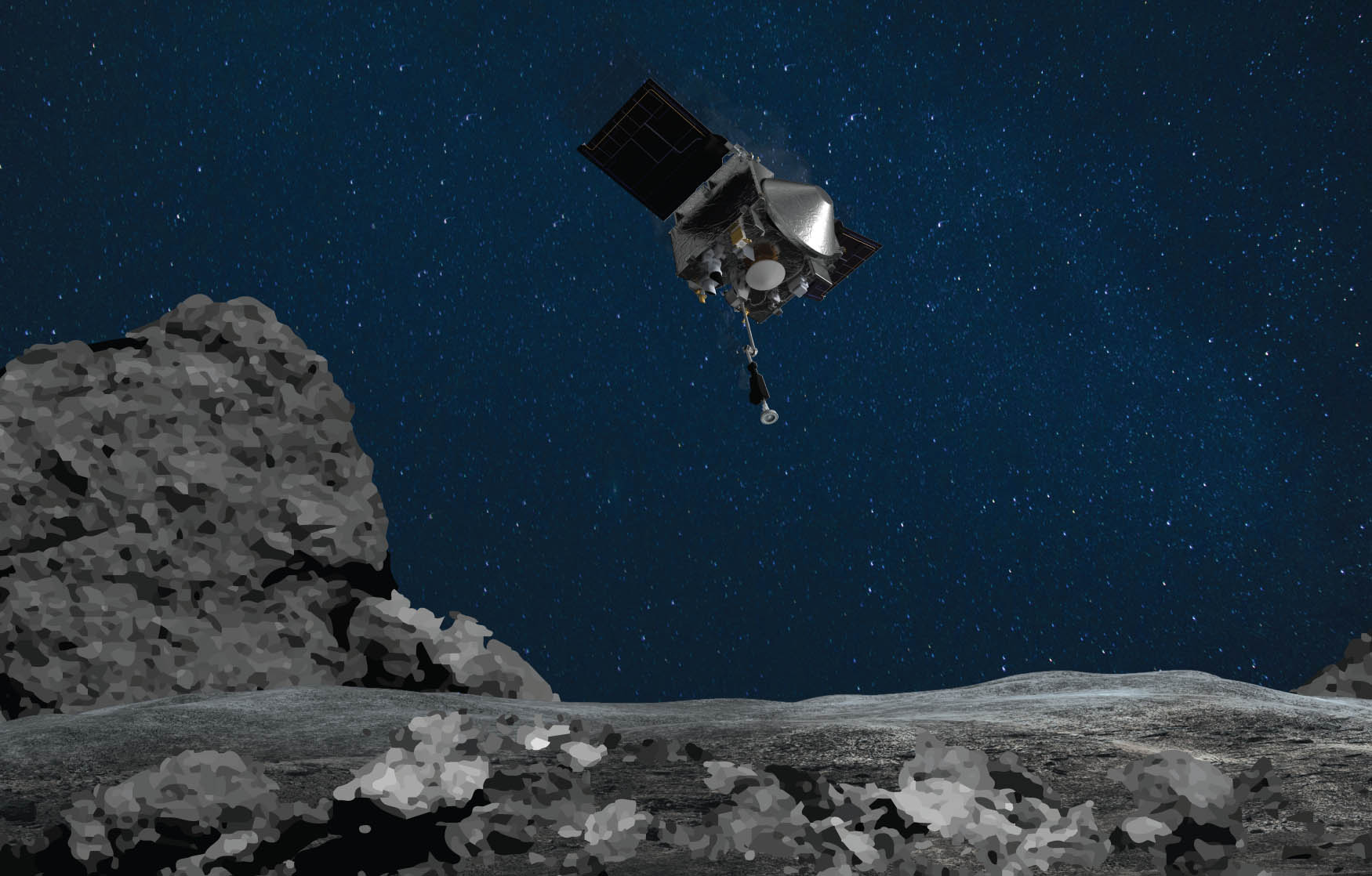 NASA won't know if it successfully obtained an asteroid sample for a week