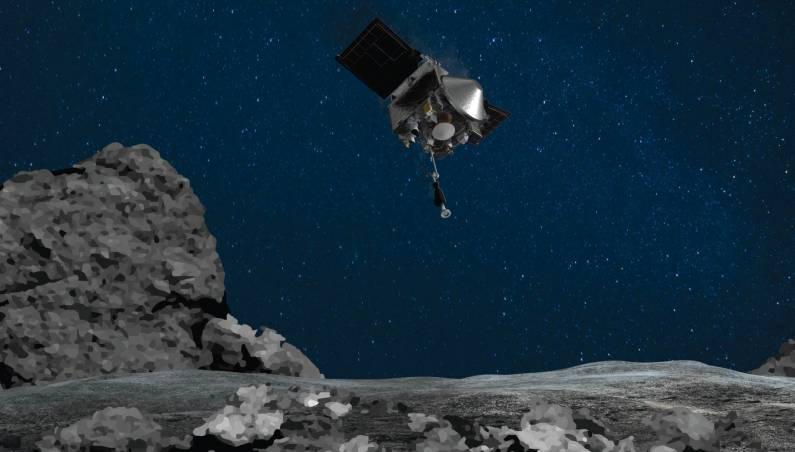 asteroid sample