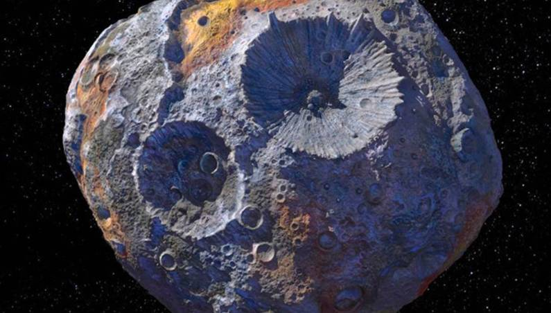 metal asteroid