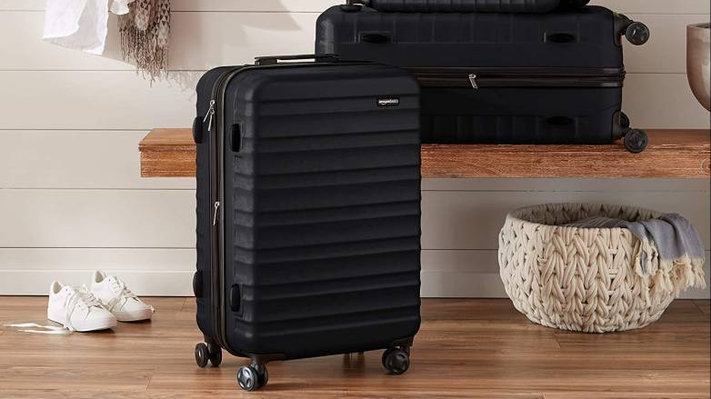 Prime Day AmazonBasics luggage