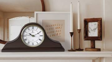 Top Clocks for Mantels