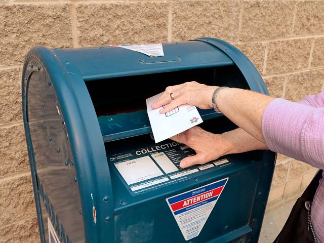 ballots thrown out