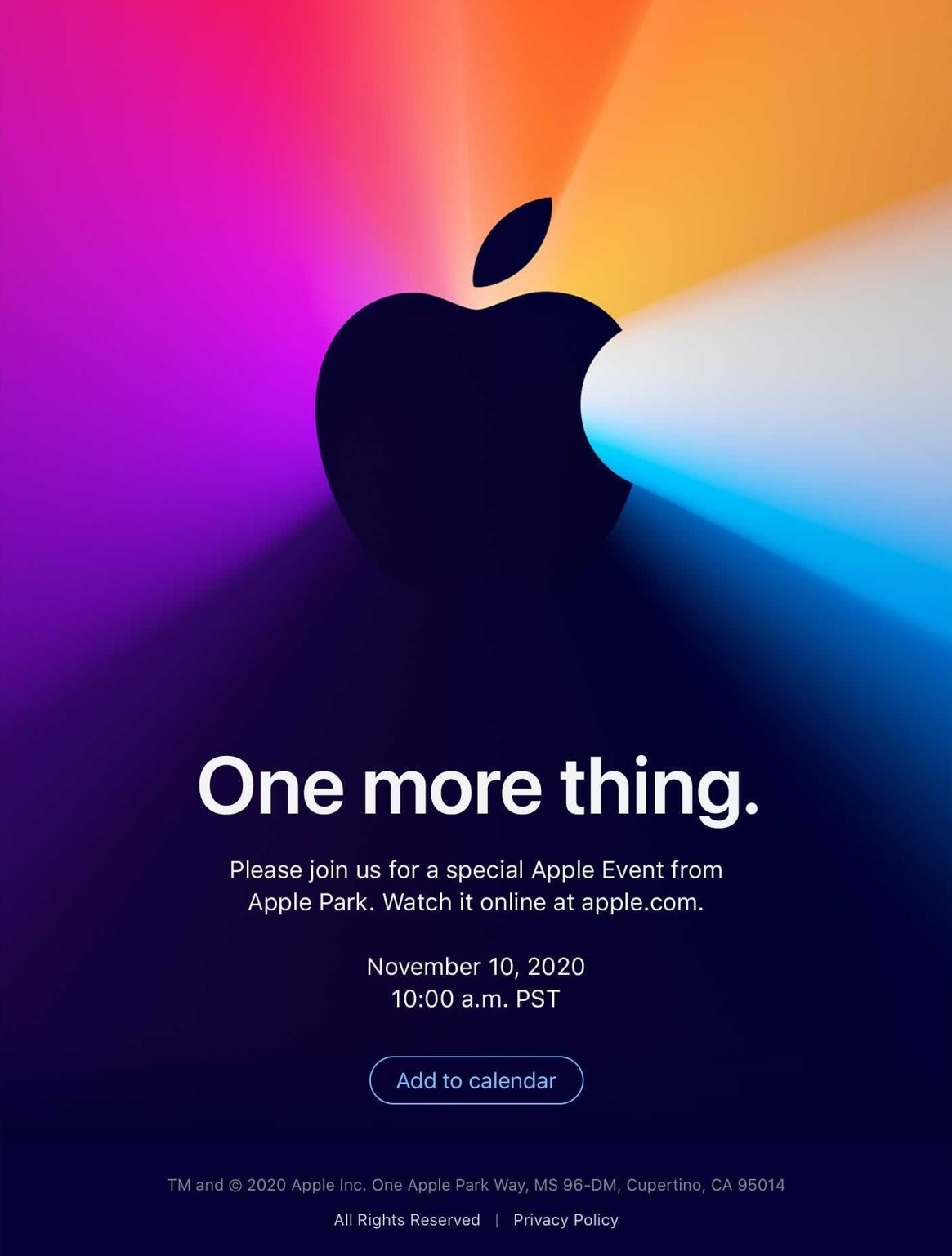 Apple-One-More-Thing-Invite