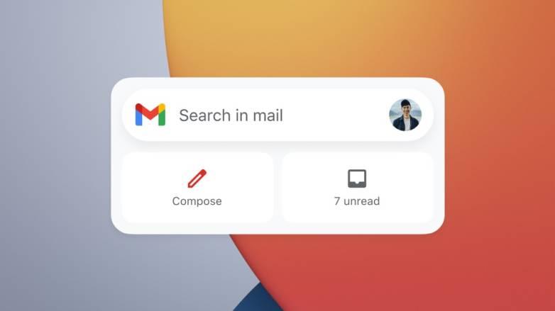 Google iPhone widgets