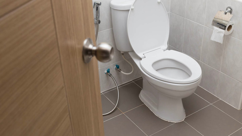 dirtiest place in bathroom