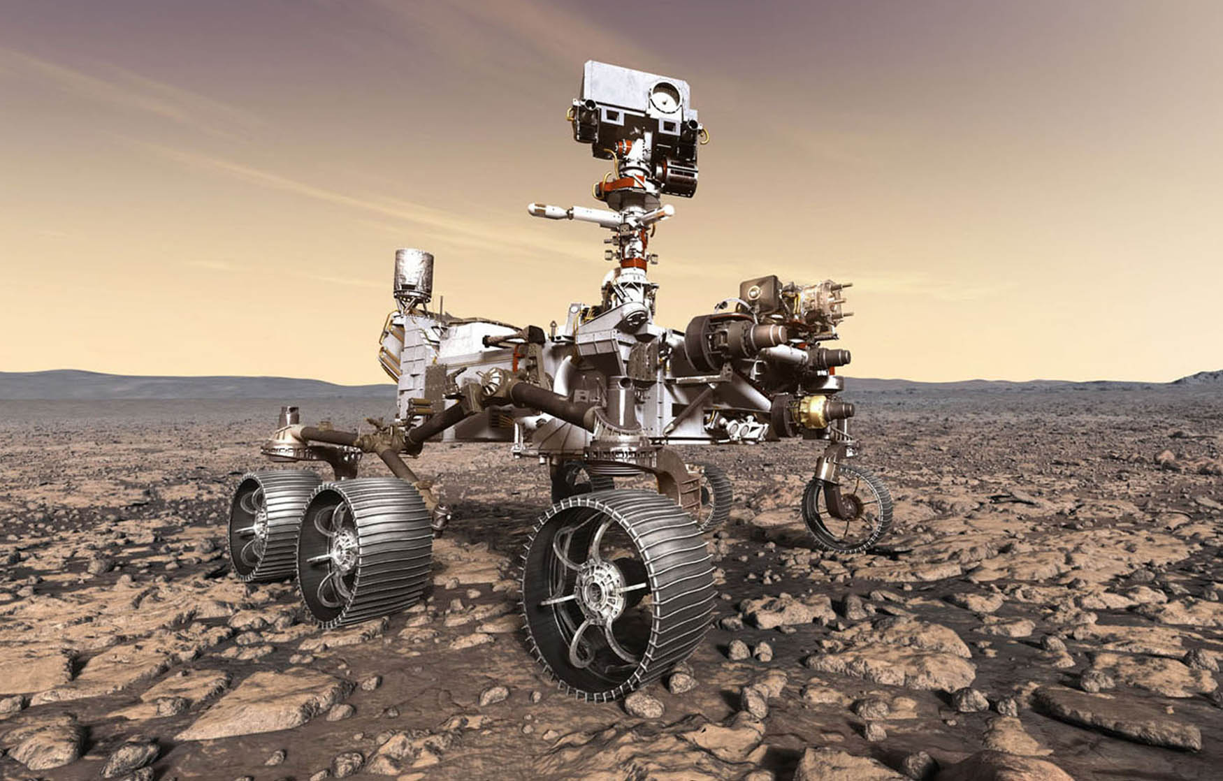 NASA's new Mars rover is hearing vibrations in space