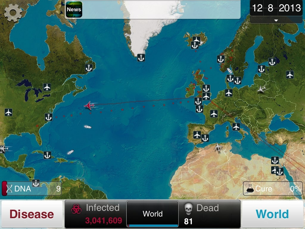 I'm obsessed with 'Plague Inc.,' a smartphone game that lets you fight a pandemic