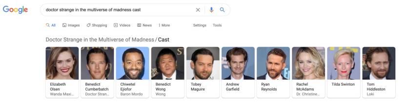 Doctor Strange 2 Cast