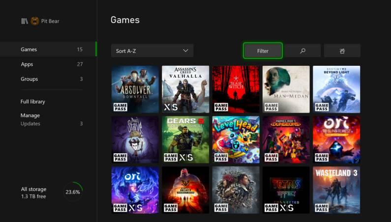 Xbox Series X November update