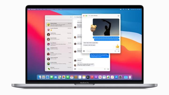 Apple Messages app