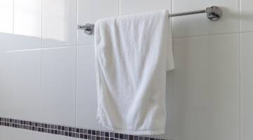 dirty towels