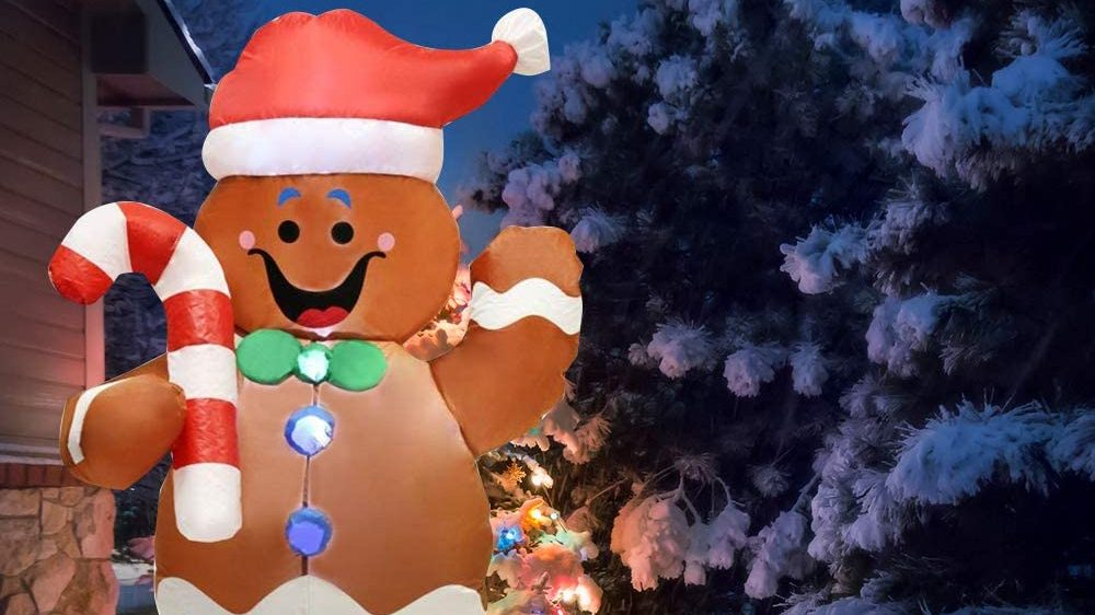 Best Inflatable Gingerbread Man
