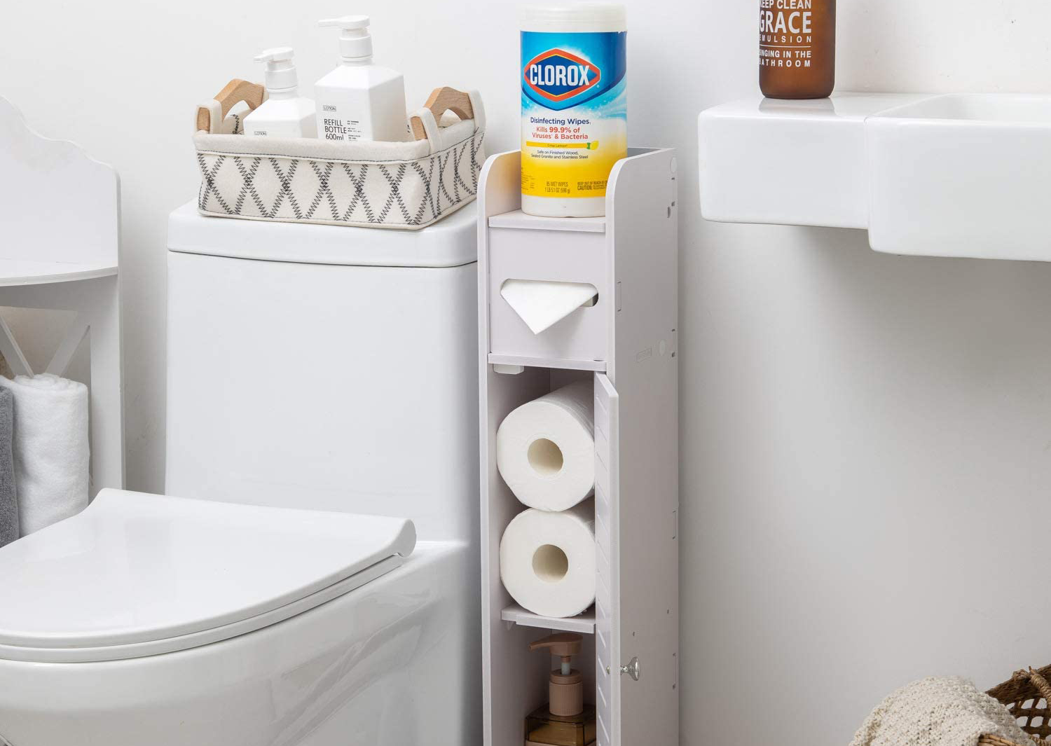 This Brilliant 26 Storage Cabinet For Small Bathrooms Has Amazon Shoppers Obsessed Bgr
