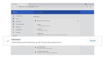 Chrome extensions spyware