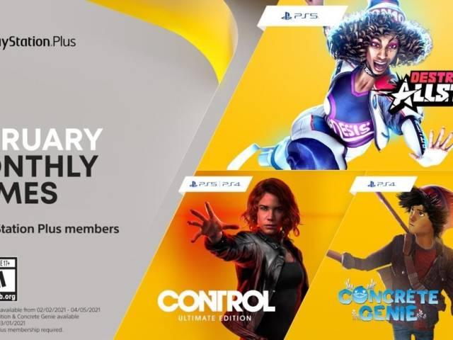 PlayStation Plus February 2021