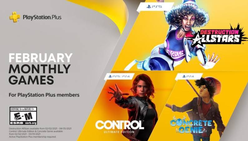 PlayStation Plus February 2021