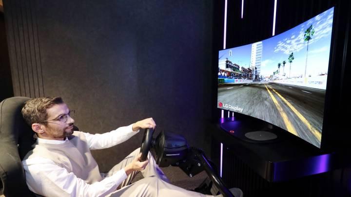 LG Bendable OLED Display