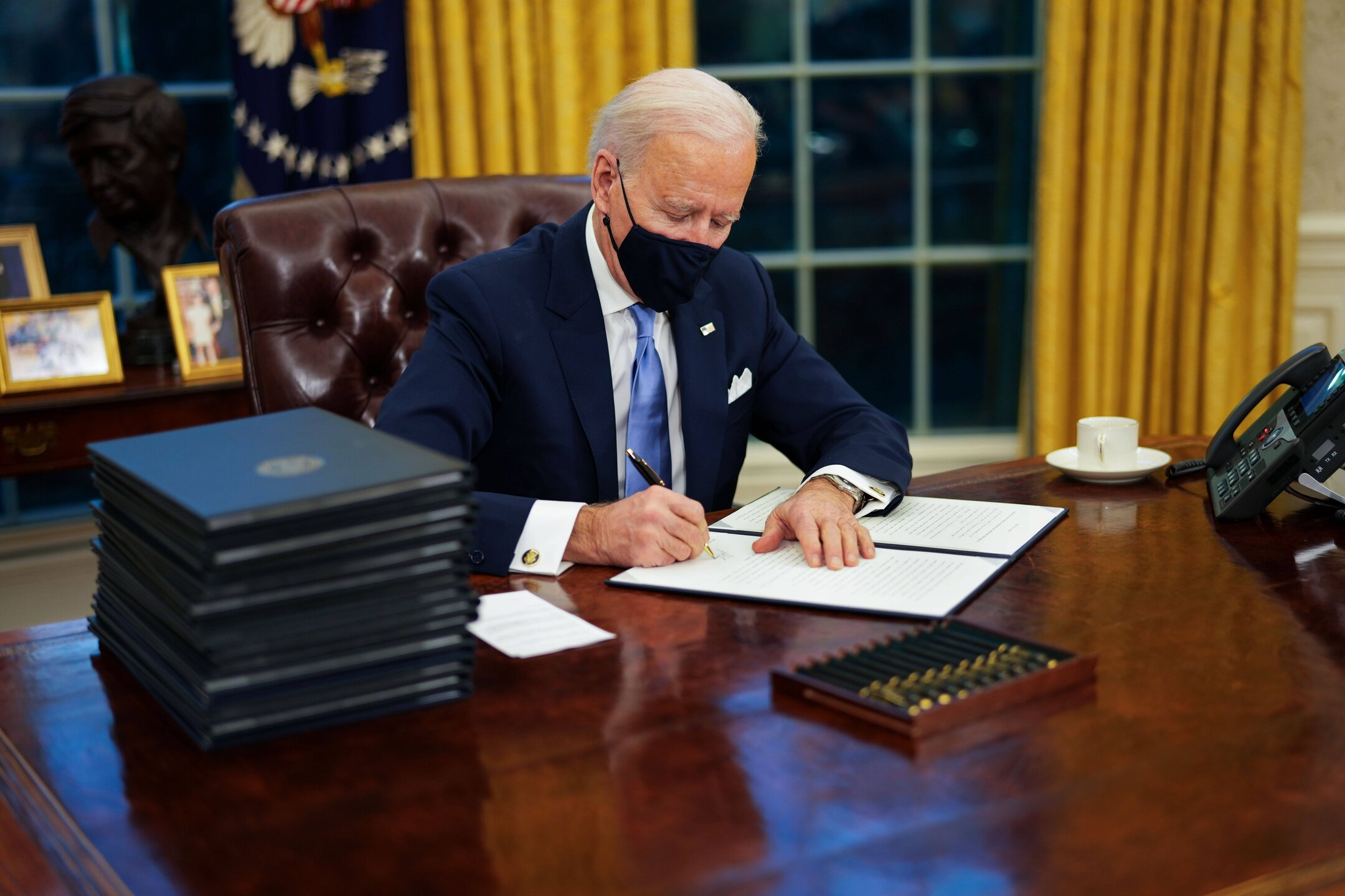 Biden used a secret message on the White House website to put out a call for coders