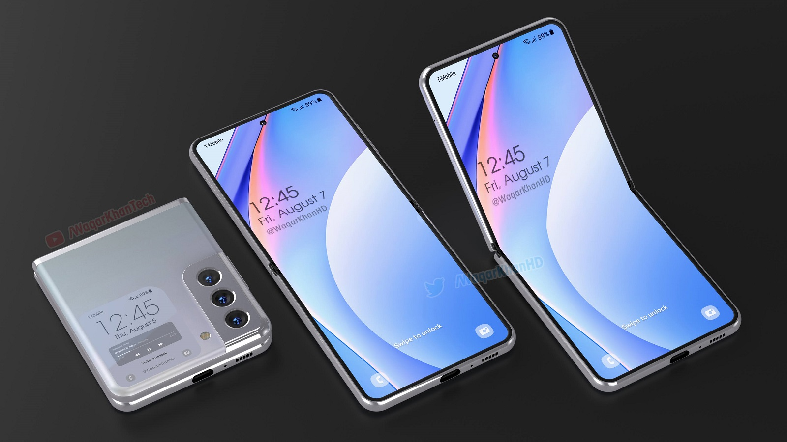 Galaxy Z Flip 3 Concept Offers A Stunning Look At The Future Of Foldables Bgr