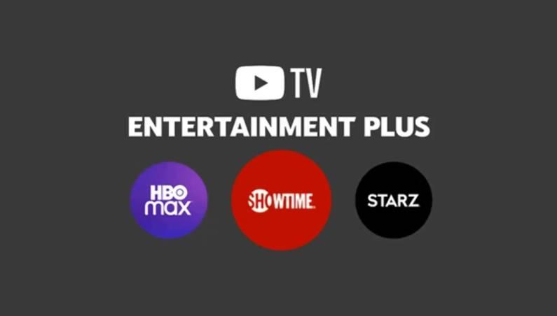 YouTube TV Entertainment Plus