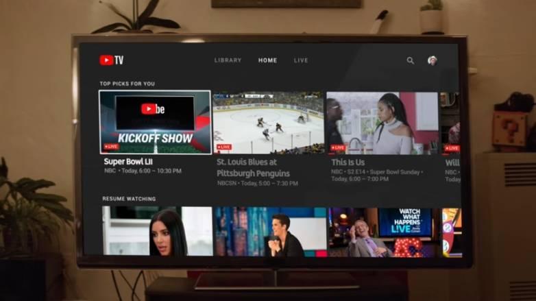 YouTube TV Store