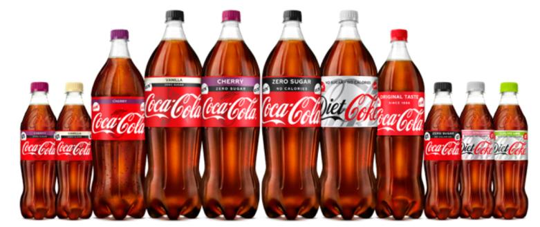 Coke Bottles
