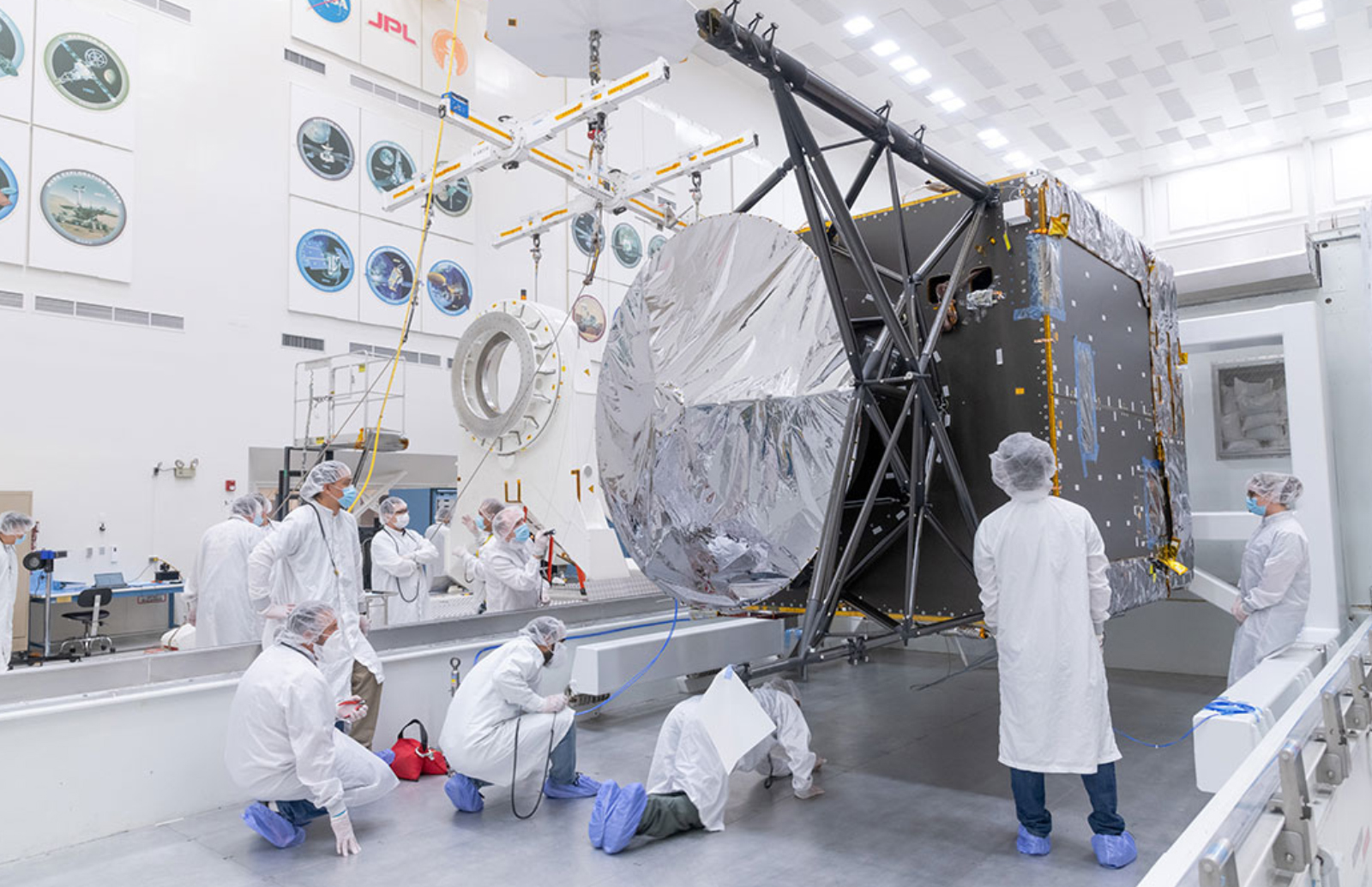 NASA's asteroid-hunting spacecraft is finally taking shape