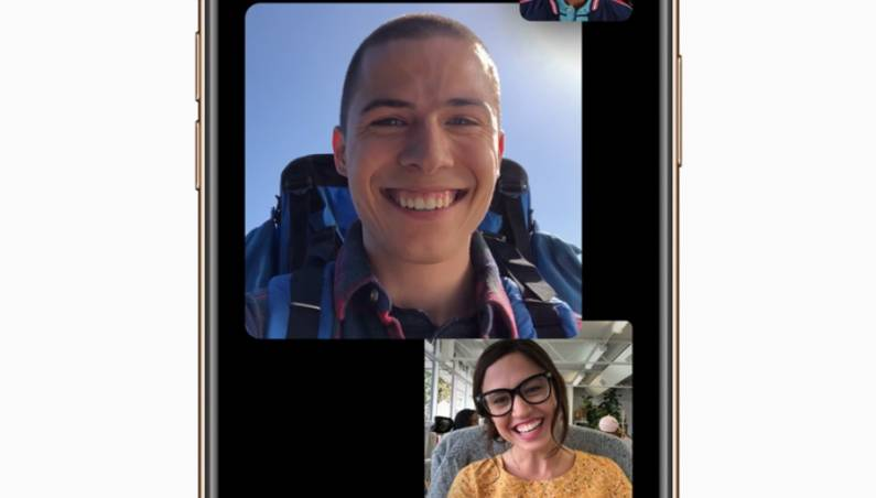 FaceTime group call spam