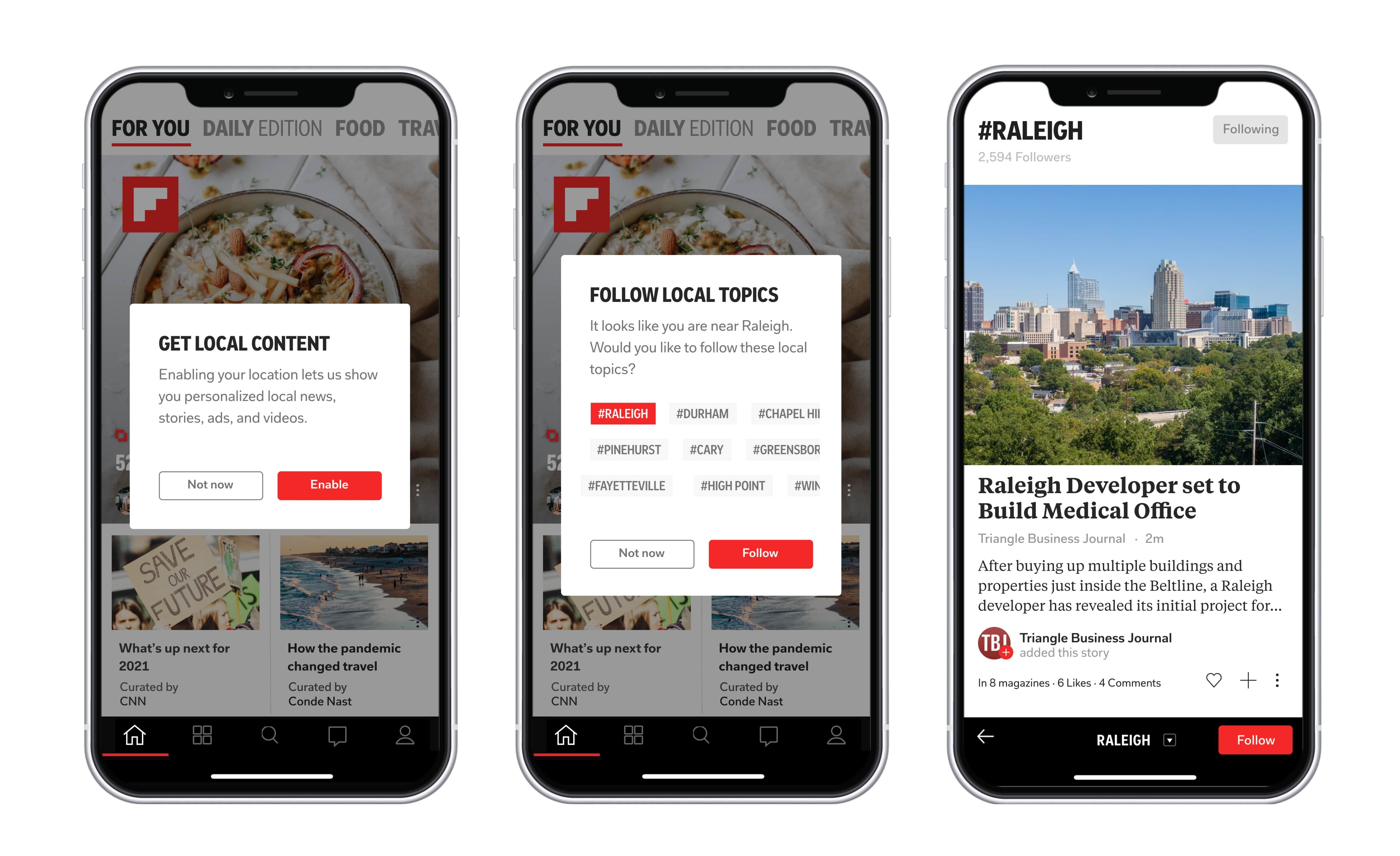 Flipboard just announced a huge expansion: Local news now offered for more than 1,000 cities