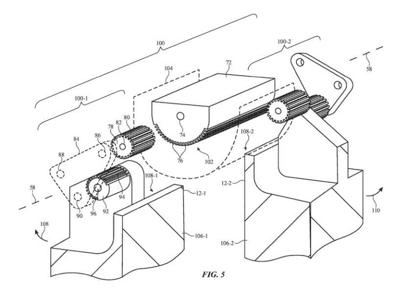 Foldable iPhone Hinge Patent